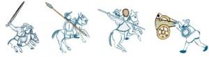 2sc_swords_lances_shields_pushing_a_cannon